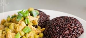 Morčacie mäso na hrášku s Rice berry