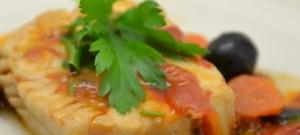 Rybie filety so zeleninou