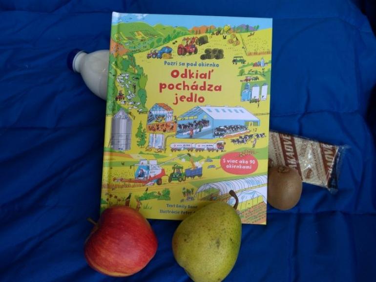 Tip na čítanie pre deti: Odkiaľ pochádza jedlo